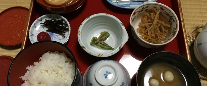 Breakfast on Koyasan: A Meal at Kumagaiji