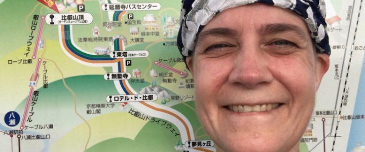 Climbing Mt. Hiei (Kyoto, Japan)