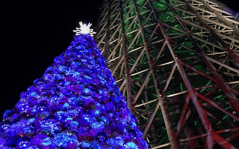 A Visit to Solamachi Skytree Christmas Market