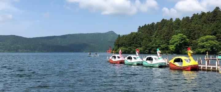 A Morning Walk at Lake Ashi: Hakone, Japan