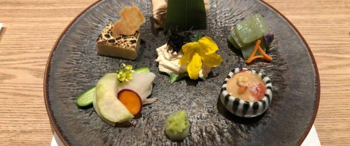 Vegetarian Kaiseki in Kinosaki Onsen